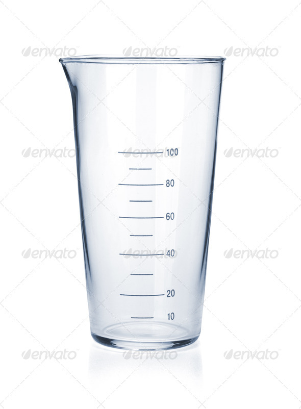 Measure glass - Stock Photo - Images