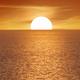 Big sun and sea sunset background. - PhotoDune Item for Sale