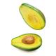 Avocado isolated on white - PhotoDune Item for Sale