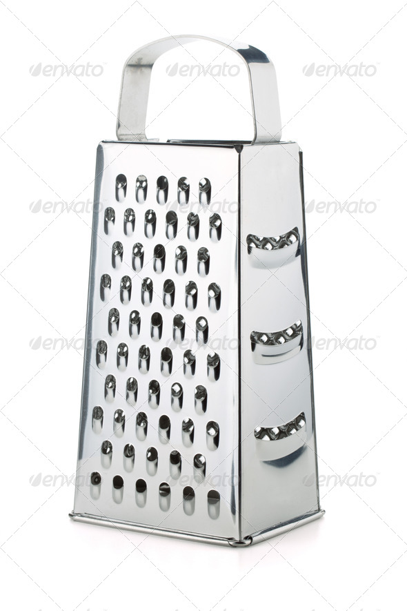 Metal grater - Stock Photo - Images
