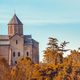 Ancient church among the autumn forest. Georgia - PhotoDune Item for Sale