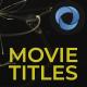 Movie Titles l Films Opener l Hollywood Films - VideoHive Item for Sale