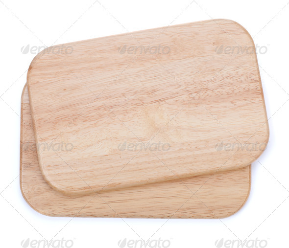 Two chopping boards - Stock Photo - Images