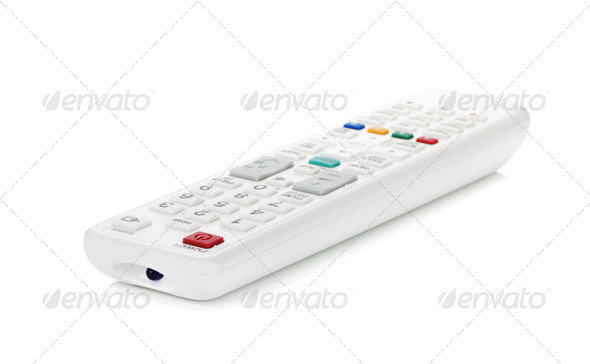 White remote control - Stock Photo - Images
