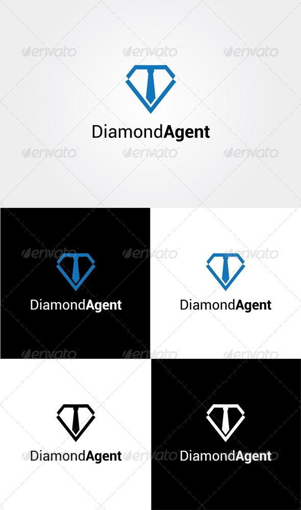 Diamond Agent Logo - Symbols Logo Templates