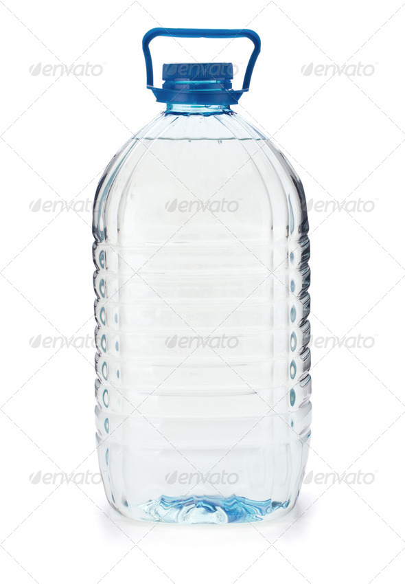 Large bottle of water - Stock Photo - Images