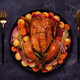 Whole baked chicken with vegetables. - PhotoDune Item for Sale