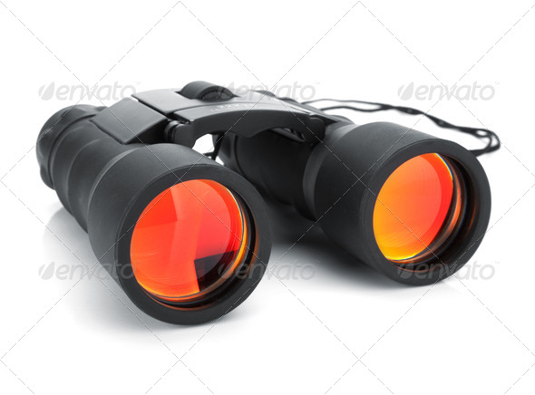 Binoculars - Stock Photo - Images