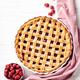 Classic Raspberry Pie in Ceramic Baking Pan. - PhotoDune Item for Sale