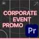 Corporate Event Promo - VideoHive Item for Sale