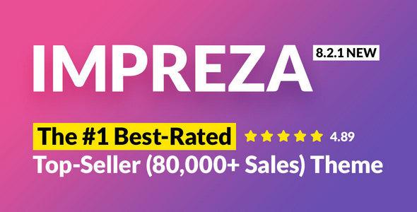 Impreza – Multi-Purpose WordPress Theme Nulled