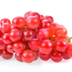 red grape isolated on white - PhotoDune Item for Sale