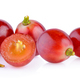 red grape on white - PhotoDune Item for Sale