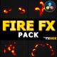 Flash FX Flame Elements | DaVinci Resolve - VideoHive Item for Sale