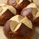 Fresh baked Lye rolls close up - PhotoDune Item for Sale