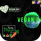 Vegan Day Titles - VideoHive Item for Sale