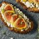 Healthy Homemade Fig Breakfast Toast - PhotoDune Item for Sale