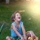 Little boy in garden - PhotoDune Item for Sale