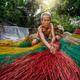 Vietnamese Old man craftsman making the traditional vietnam mats - PhotoDune Item for Sale