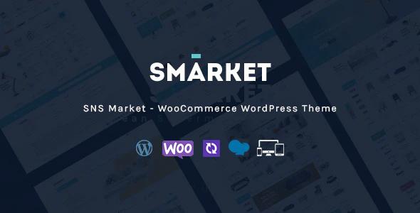 Extraordinary SNS Market - WooCommerce WordPress Theme