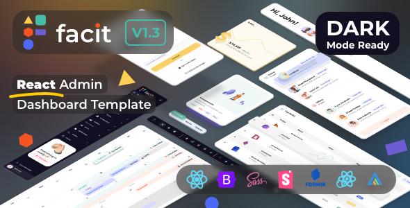 Facit | React Admin Dashboard Template