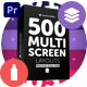 Multi Screen Layouts Pack for Premiere Pro - VideoHive Item for Sale