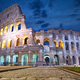 Rome Colosseum at dusk - PhotoDune Item for Sale