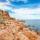 Stunning view of popular travel destination Costa Paradiso. - PhotoDune Item for Sale