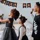 Kids Taking Selfie on Halloween - PhotoDune Item for Sale