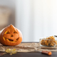Pumpkins on the table - PhotoDune Item for Sale