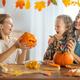 family preparing for Halloween - PhotoDune Item for Sale