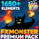 FX MONSTER - Premium Pack for FCPX & Apple Motion