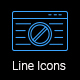 Web Development Line Icons - VideoHive Item for Sale
