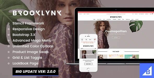 Brooklynk - Fashion BigCommerce Stencil Template