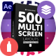 Multi Screen Layouts Pack - VideoHive Item for Sale