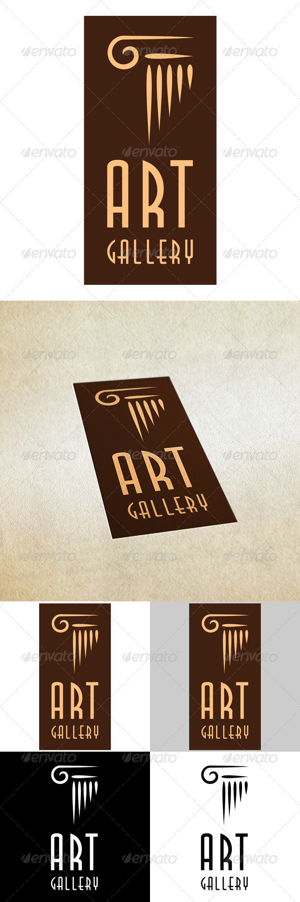 Art Gallery - Vector Abstract