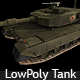 LowPoly Japanese Type90 Tank - 3DOcean Item for Sale