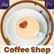 Coffe Shop Promo | MOGRT - VideoHive Item for Sale