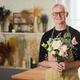 Senior Man Enjoying Flowers - PhotoDune Item for Sale
