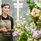 Female Florist in Shop - PhotoDune Item for Sale