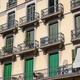 Typical house facades in Barcelona - PhotoDune Item for Sale