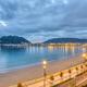 View of La Concha beach in San Sebastian - PhotoDune Item for Sale