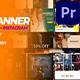 50 Facebook & Instagram Banner | Mogrt - VideoHive Item for Sale