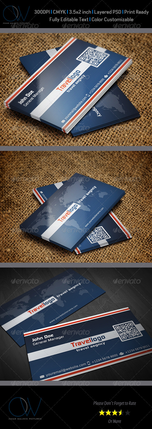 Travellogo Business Card - Corporate Business Cards