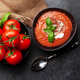 Homemade cooking cold gazpacho soup - PhotoDune Item for Sale