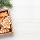 Christmas card with gingerbread cookies - PhotoDune Item for Sale