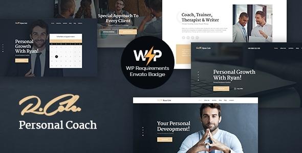 Wondrous R.Cole | Life & Business Coaching WordPress Theme