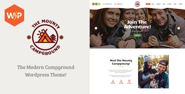 The Mounty | Hiking Campground & Children Camping WordPress Theme