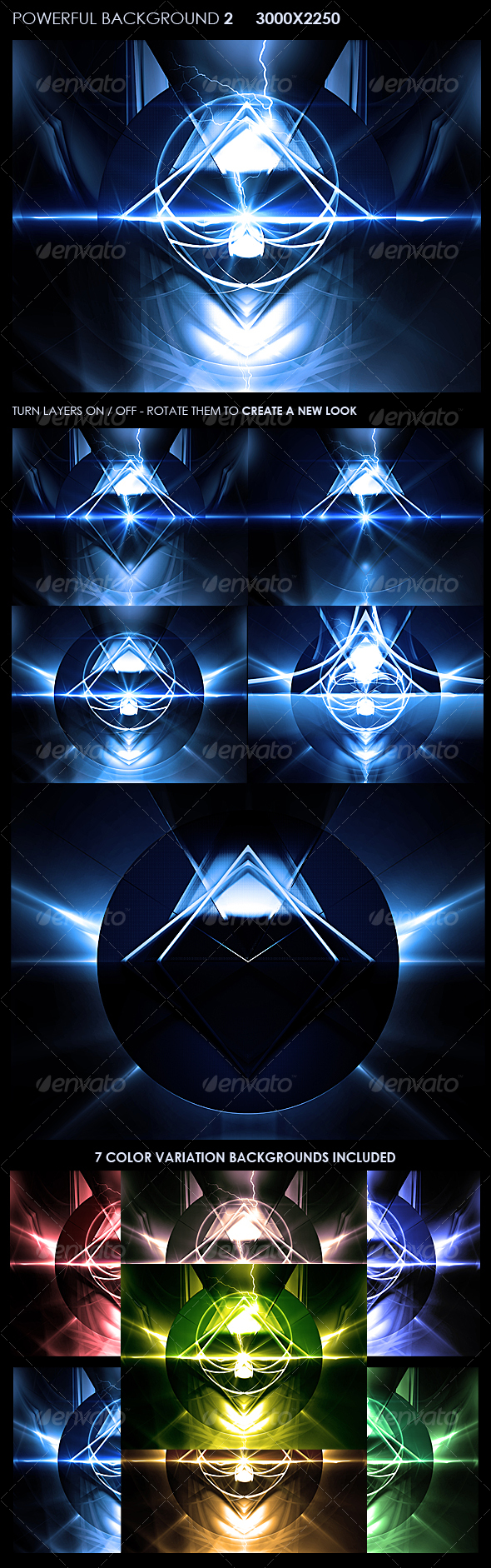 Powerful Background 2 - Backgrounds Graphics