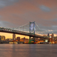 Philadelphia, Pennsylvania, USA skyline on the Delaware river with Ben Franklin Bridge - PhotoDune Item for Sale